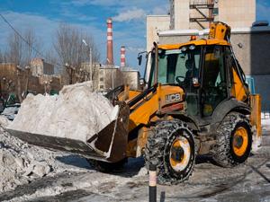 Аренда трактора для погрузки снега