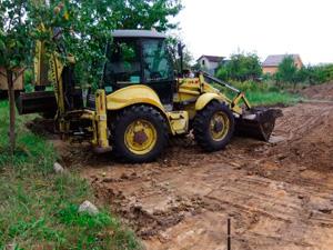 Аренда трактора для выравнивания участка