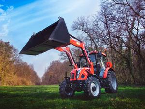 Аренда трактора с ковшом